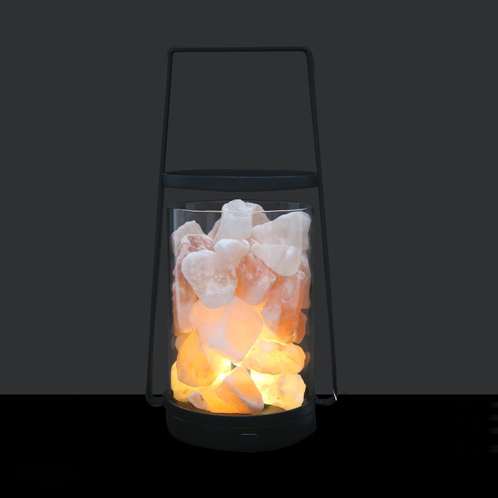 LED Salt Lamp Lantern (Battery Operated)